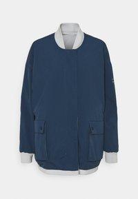 Ecoalf - KELP REVERSIBLE JACKET WOMAN - Short coat - navy - 7