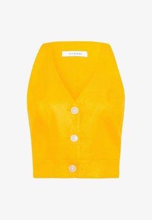 Top - sun yellow