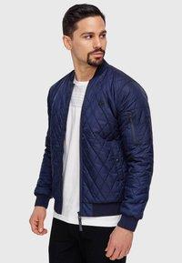 INDICODE JEANS - NOVAK - Light jacket - navy - 8