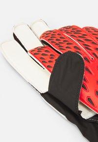 adidas Performance - UNISEX - Goalkeeping gloves - red/solar red/black - 2