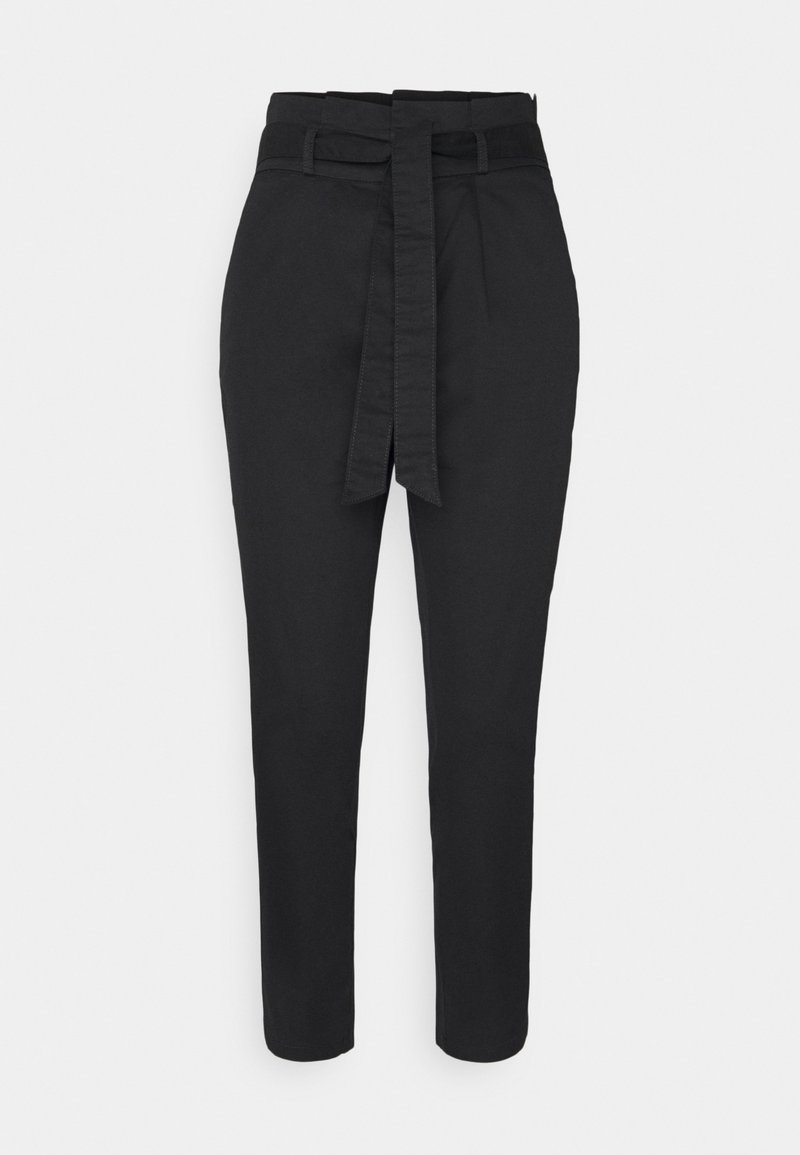 ONLY Petite - ONLPOPTRASH LIFE PANT - Trousers - black