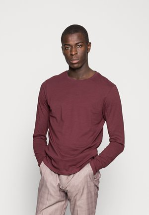 T-shirt à manches longues - bordeaux