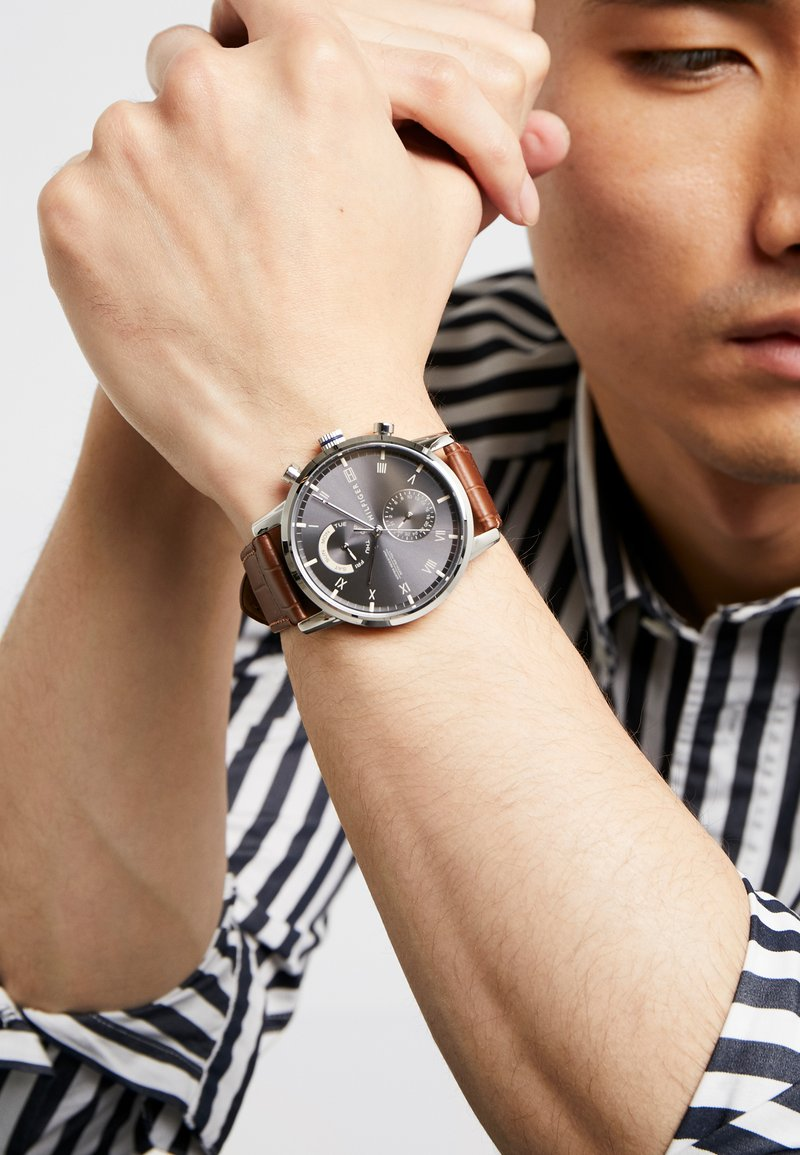 Tommy Hilfiger - Chronograaf - brown/silver