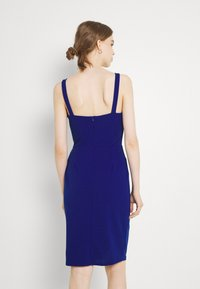 WAL G. - IMAANI STRAPPY MIDI DRESS - Cocktail dress / Party dress - electric blue - 2