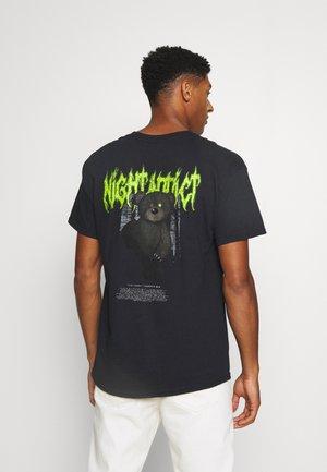 BEAR - T-Shirt print - black