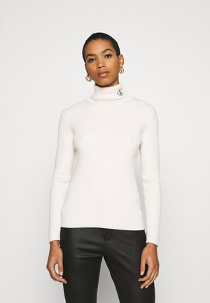 ROLL NECK - Svetr - soft cream