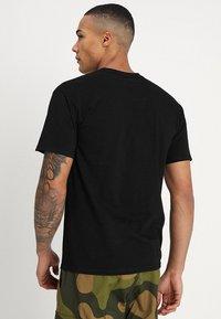 HUF - BOX LOGO - Print T-shirt - black - 2