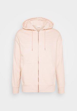 UNISEX - Zip-up hoodie - pink