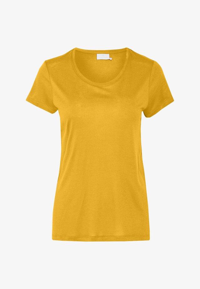 ANNA - Basic T-shirt - golden rod