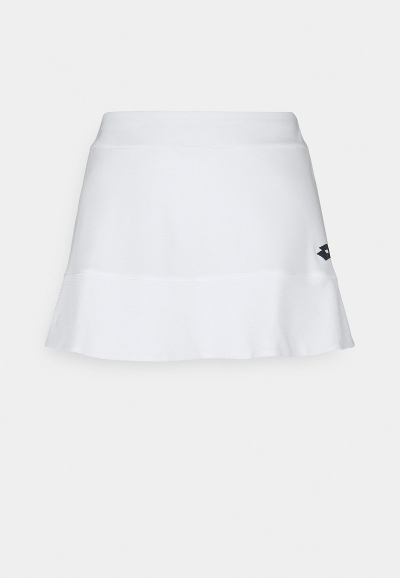 Lotto - SQUADRA SKIRT - Sports skirt - bright white