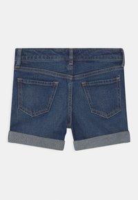 GAP - GIRL  - Denim shorts - dark-blue denim - 1