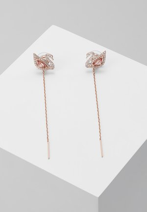 DAZZLING SWAN - Earrings - fancy morganite