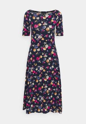 Sukienka z dżerseju - french navy / multi