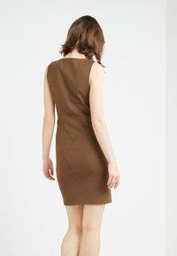 Patrizia Pepe - Shift dress - techno brown - 2