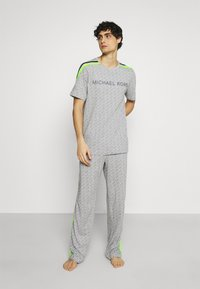 Michael Kors - PEACHED PANT - Pyjama bottoms - grey/multi - 1