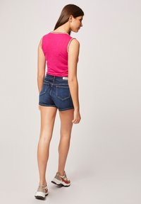 Morgan - WITH LARGE STRAPS AND STRIPS - Top - neon pink - 2
