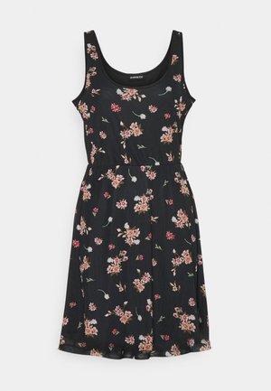 Vestito estivo - black/pink