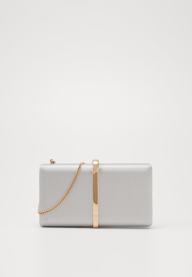 NOAH CLASP DETAIL HARDCASE - Clutch - oyster