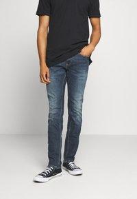 Tommy Jeans - SCANTON - Slim fit -farkut - dark blue - 0
