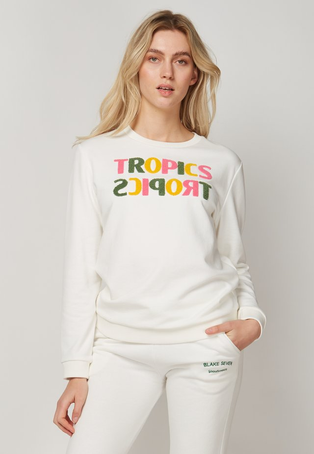 TROPICS TROPICS - Sweater - white
