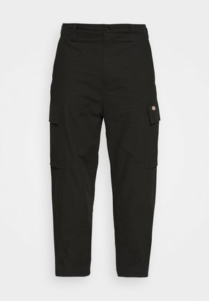 EAGLE BEND - Cargo trousers - black