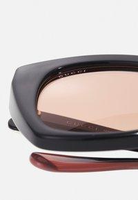 Gucci - Sunglasses - black/orange - 3