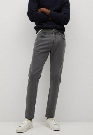 TAPERED FIT  - Jeans Tapered Fit - denim grau