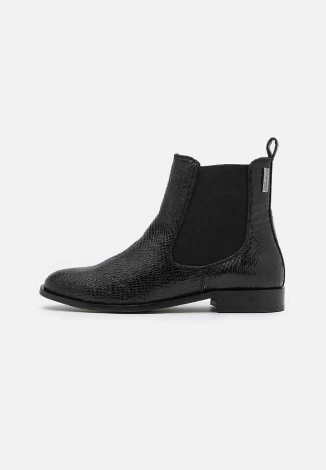 ALIBI - Korte laarzen - noir