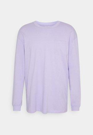 JORBRINK TEE CREW NECK - Långärmad tröja - lavender