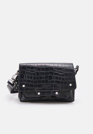 HONEY CROCO - Handbag - black