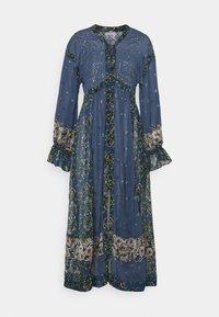 Free People - SAMIRA MAXI - Skjortekjole - midnight - 4