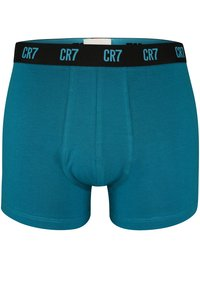 Cristiano Ronaldo CR7 - CRISTIANO RONALDO - BASIC -RETROSHORTS 3-PACK - Pants - petrol/ purple/ blue - 1