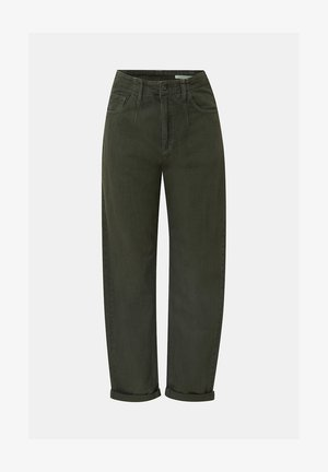 Straight leg jeans - khaki green