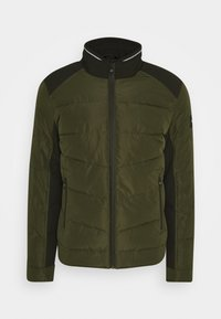 Calvin Klein - QUILTED JACKET - Light jacket - green - 4