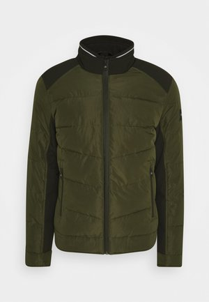 QUILTED JACKET - Übergangsjacke - green