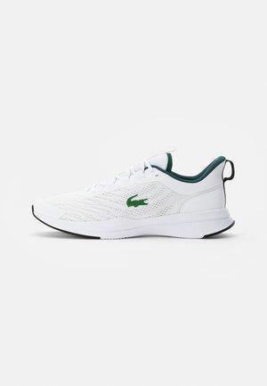 RUN SPIN - Trainers - white/dark green