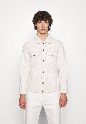 RAW TRUCKER JACKET - Jeansjakke - off white