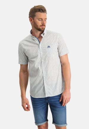 WITH AN ALL-OVER PRINT - Shirt - white/sand