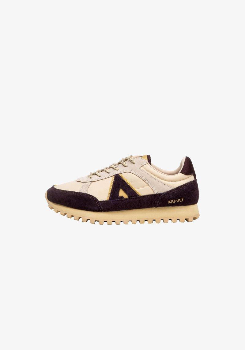 ASFVLT - CHASE - SNEAKER LOW - Sneakers basse - tan/burg.g