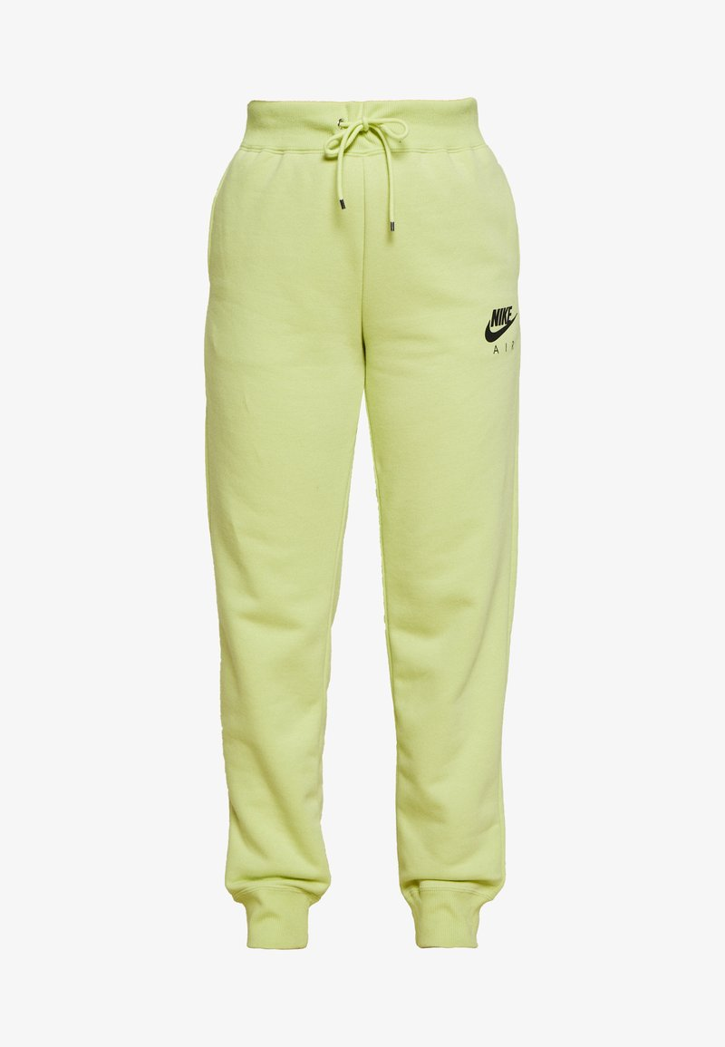 Nike Sportswear - AIR PANT - Tracksuit bottoms - limelight/ice silver