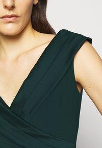 Lauren Ralph Lauren - MID WEIGHT LONG GOWN COMBO - Occasion wear - deep pine - 5