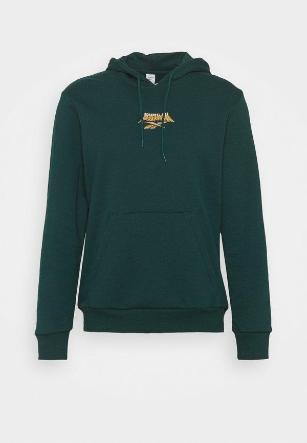 Reebok Classic HOODIE - Bluza - forest green/zielony Odzież Męska WIHC