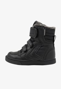 Hummel - STADIL SUPER TUMBLED  - High-top trainers - black - 1