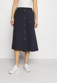 Esprit - A-line skirt - dark blue - 0