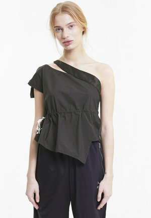 Blouse - cotton black
