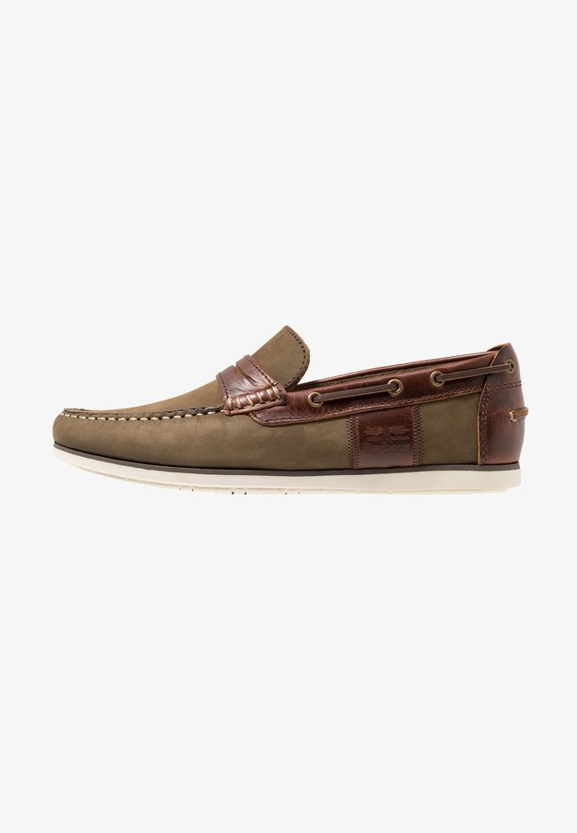 KEEL DRIVER - Instappers - olive/mahogany