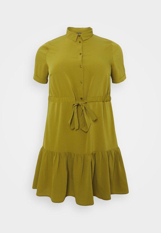 UTILITY SHIRT DRESS - Shirt dress - khaki