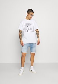 Vintage Supply - SNOOPY GRAPHIC TEE - Print T-shirt - white - 1