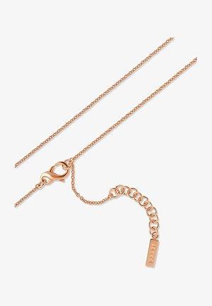 LUCKY CHARM - Necklace - roségold-coloured