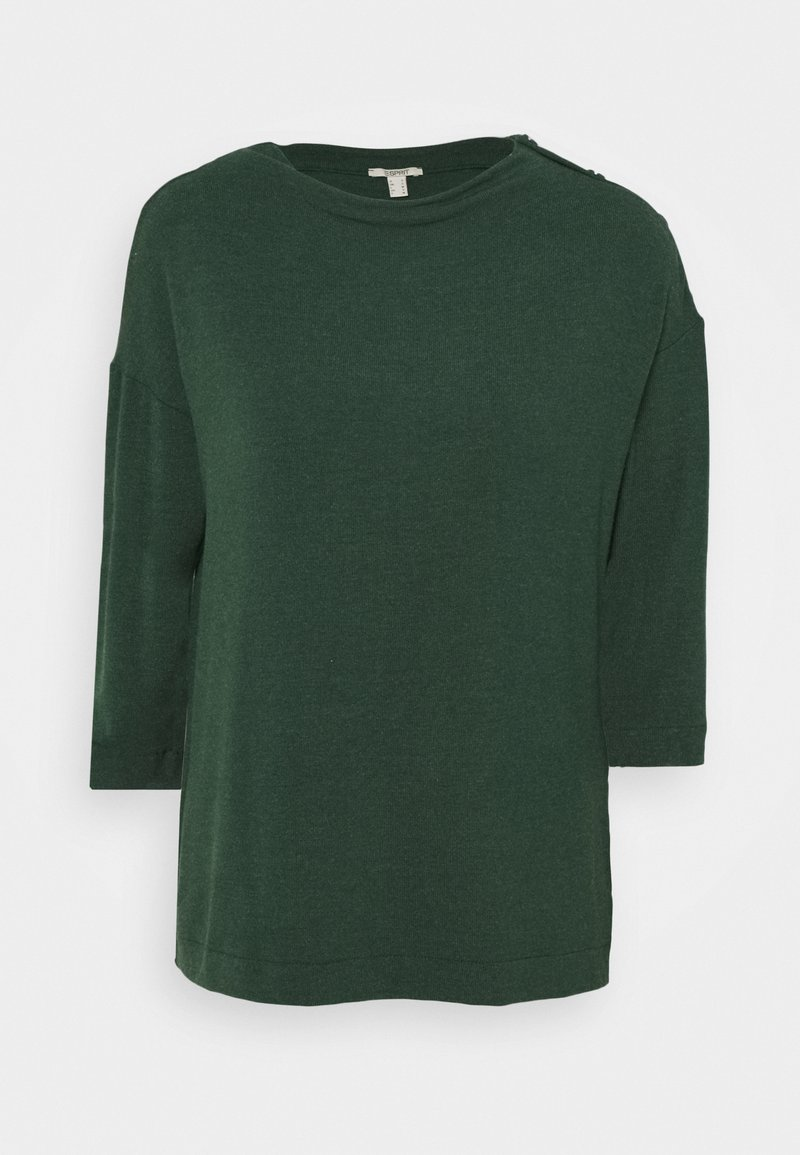 Esprit - ECOVERO - Jumper - dark green
